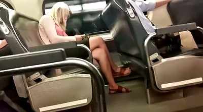 Train, Foot feet, Candid feet