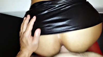 Upskirt, Skirt, Mini skirt, Skirting, Skirt anal, Latina pov