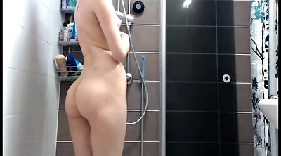 Bathroom, Granny small tits, Granny shower