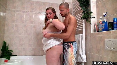 Fat girl, Bbw shower, Showering