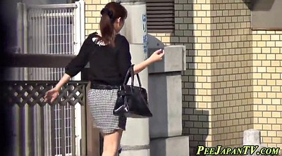 Asian voyeur, Asian peeing, Japanese public