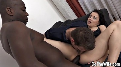 Blacked anal, Hot wife