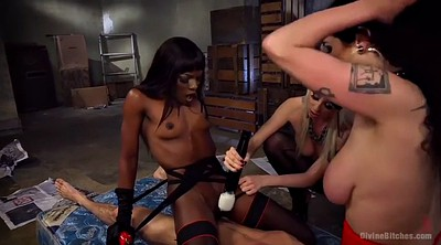 Sit face, Black group, Lucky, Blonde milf