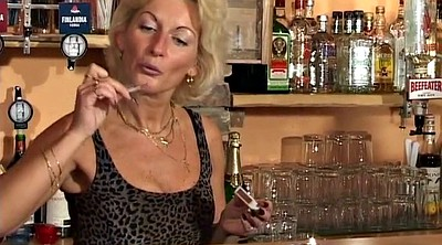 Bar, Mature milf
