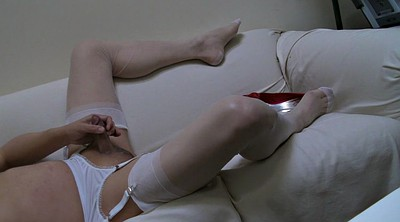 Double penetration stockings, Pantyhose cum, White panties, Stockings double penetration, Sheer