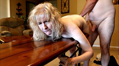 Spanking, Spank wife, Table, Wife fucked, Wife spank, Wife dildo