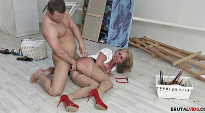 Office anal, Rough, Rough anal