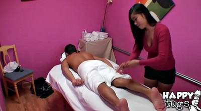 Shaving, Asian massage