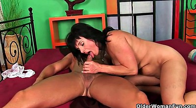 Hairy cumshot, Old lady, Hairy wet