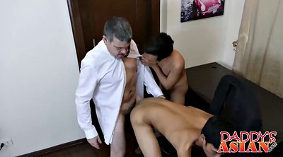 Daddy, Asian young, Asian old, Old gay