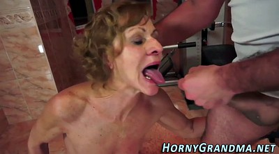 Granny anal, Mature anal