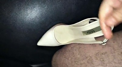 Shoe, Shoe fuck, Wife friend