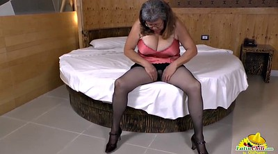 Seduction, Grannies, Granny solo, Adult, Solo milf, Chubby milf