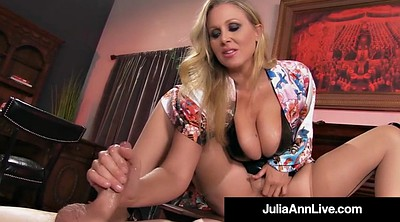 Julia ann, Julia, Handjob, Mature bdsm, Blonde mature, Bdsm pussy