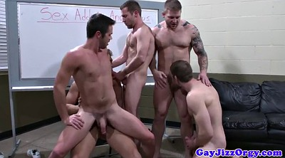 Muscle, Orgy, Big ass orgy, Group orgy