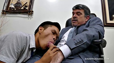 Dad, Asian office, Office gay, Gay daddy, Daddies, Old dad