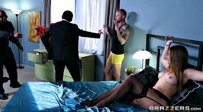 Husband, Dani daniels, Handcuffed, Hairy interracial