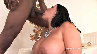 Bbw interracial, Bbw blowjob