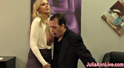 Julia ann, Dating, Milk tits, Mature handjob