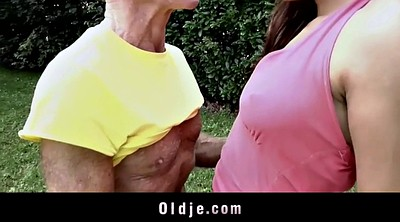Anal granny, Old anal, Old man anal, Teen old man, Cum in her ass, Anal grannies