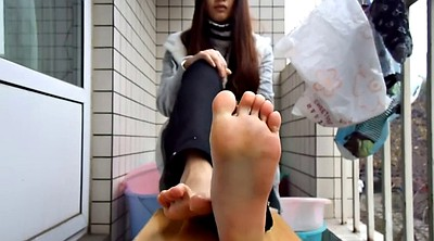 Chinese feet, Asian teen, Chinese teen