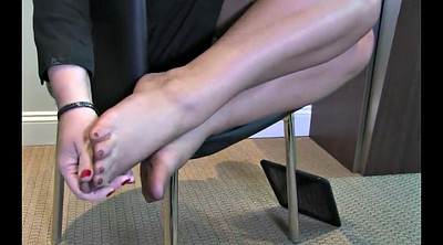 Nylons, Nylon foot, Pantyhose foot, Pantyhose feet, Nylon feet