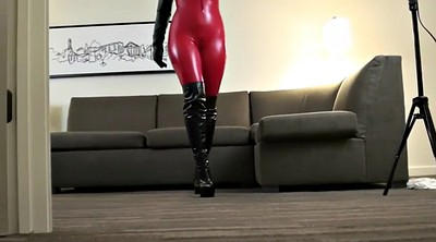 Boots, Catsuit