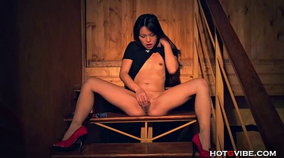 Squirt, Asian young, Behind scene, Skinny asian