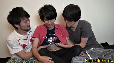Japanese handjob, Twinks