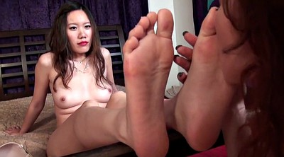 Chinese foot, Chinese feet, Lesbian foot, Lesbian feet, Asian feet, Chinese lesbian