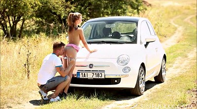 Car, Couple, Video, X videos, In public