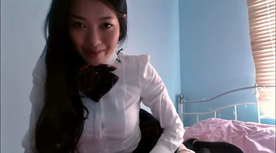 Asian girl, Asian webcam, Webcam, Tit, Girl school