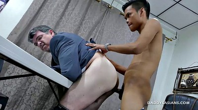 Dad, Daddy, Old gay, Asian daddy, Guy, Bareback