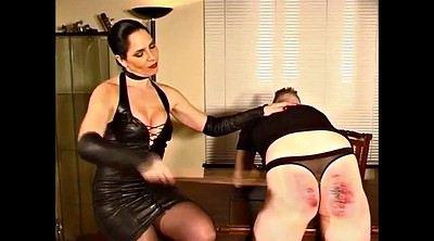Hard spanking, Close up, Hard spank, Leather