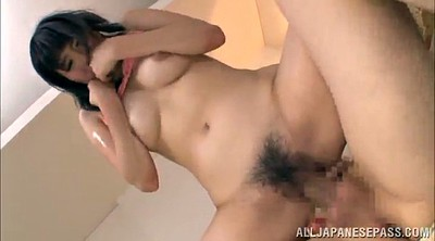 Orgasm, Hairy creampie, Lick, Threesome asian, Hairy busty