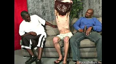 Blacked, Interracial gangbang, Skinny ebony