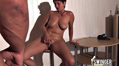 Mature blowjob, German mature
