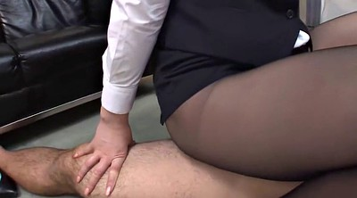 Footjob, Pantyhose feet, Pantyhose footjob