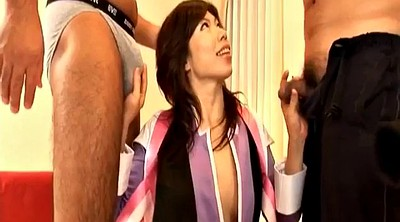 Japanese group, Sex toy, Asian threesome