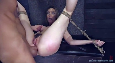 Master, Lily, Bondage anal, Big but, Pussy hairy