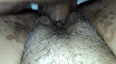 Interracial creampie, Big clit