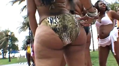 Beach, Bbw booty, Bitch
