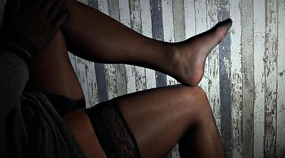 Stocking, Nylons, Handjob stocking