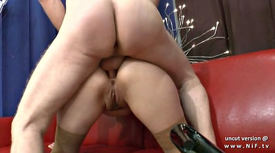 Casting anal, Mouth, French redhead, Cum mouth, Anal cum