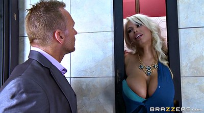 Milf boss, Outside, Bridgette
