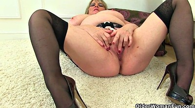 Nylons, British, Milf nylon