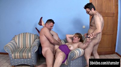 German bbw, Bbw threesome