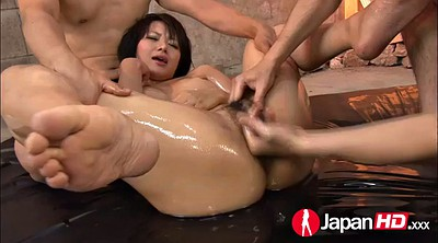 Creampie hairy, Japanese squirt, Cumshot, Japanese threesome, Double penetration, Japanese squirting