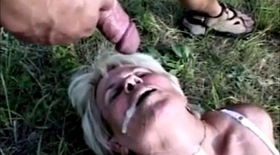 Granny anal, Outdoor anal