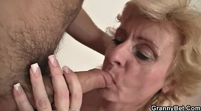 Granny, Pick, Play, Mature wife, Young wife